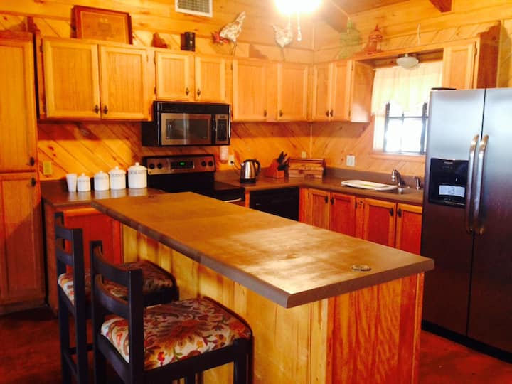 Charming Cozy   Ranch Log House