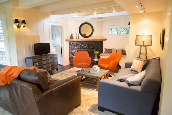 Inviting Stylish Spacious Flat - Sausalito - House