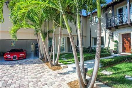 Gorgeous Miami Beach Home on Canal - Miami Beach