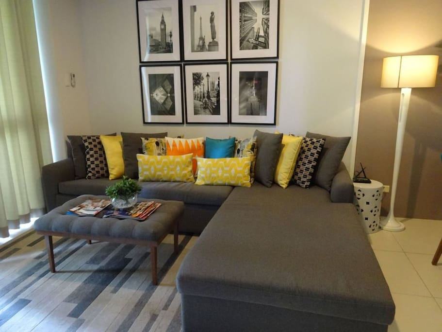 Living Room with pull out bed