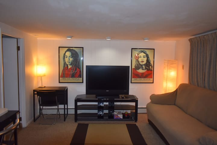 Cozy, one-bedroom apartment near DC and UMD