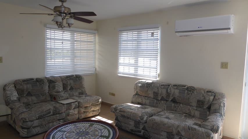 Ponce Los Caobos Apartment with terrace BBQ, PKG