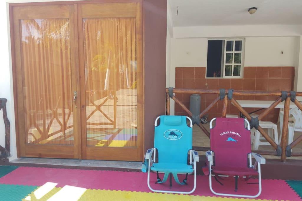 recamara privada con terraza