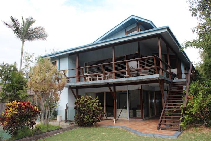 Beachfront House, Pottsville NSW