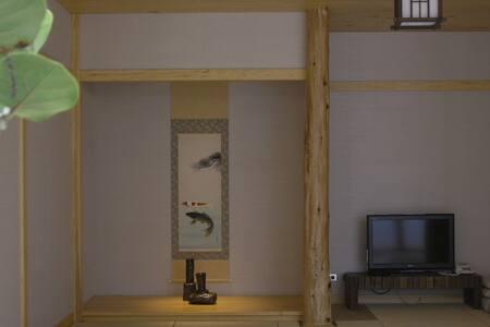35 A- LI BnB tatami room(大通鋪) - 員山鄉