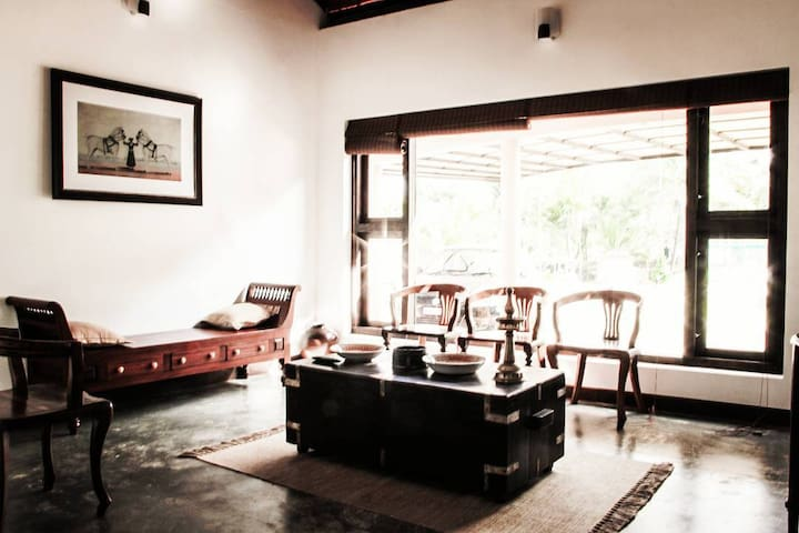 Sitting area at Ichumma's Inn