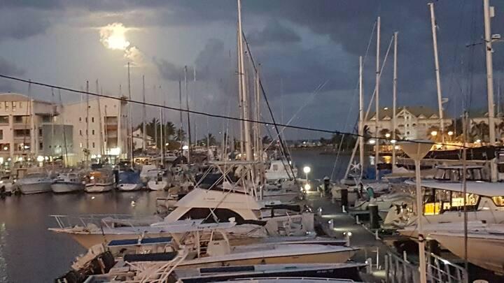 Marina de Saint-François  propreté assurée