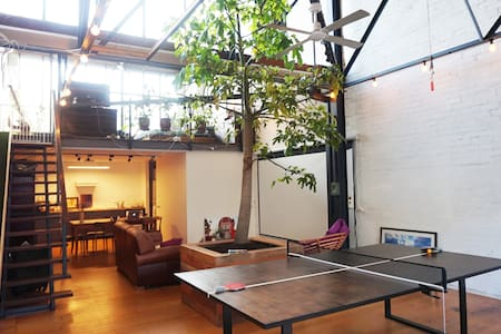 ★Jungle Loft Escape Converted Warehouse★Workaction