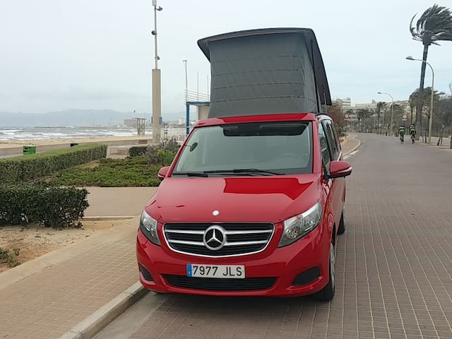 STAY IN MALLORCA IN NEW CAMPER