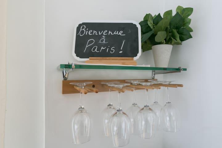 Beautiful flat in Montparnasse