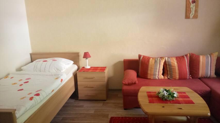 Monteurzimmer mit Gemeinschaftsküche