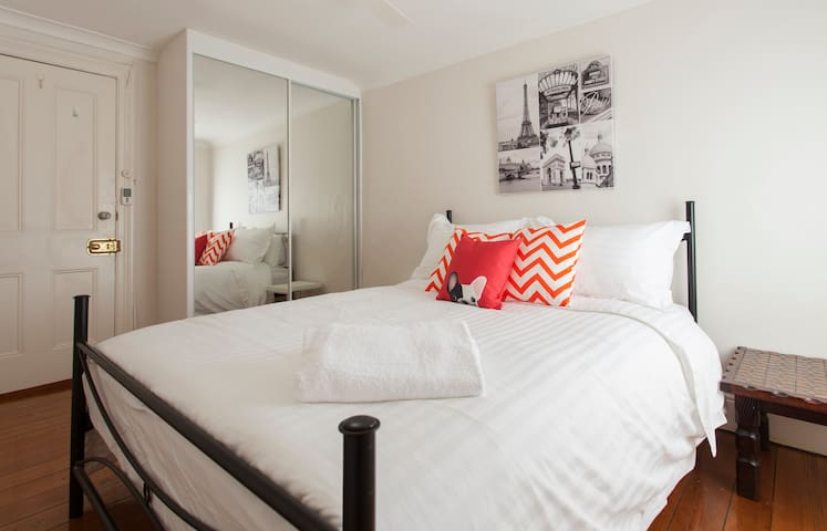 Sydney Inner City- 3 mins to Trains - Newtown - Bed & Breakfast