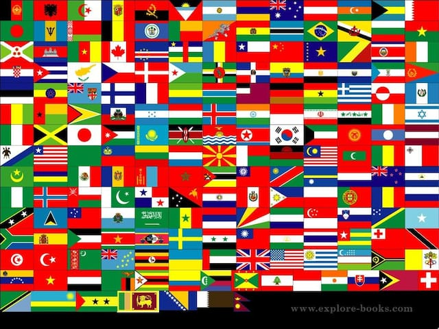 We welcome guests from all over the world!
