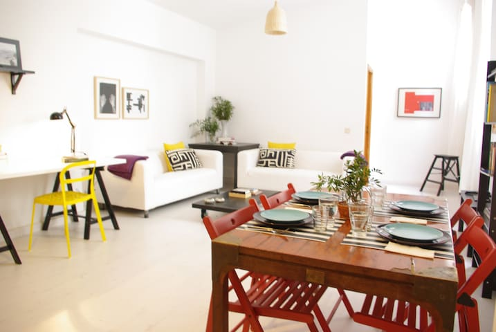 Apartment in Palma old town, monthly stays.