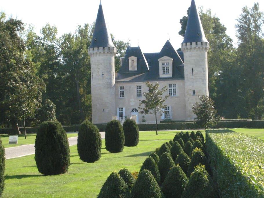 La vue du chateau