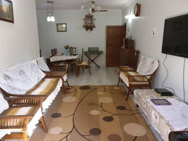 Homely Private Bedroom in Caranzalem, Panaji - Goa - Kuzey Goa - Daire