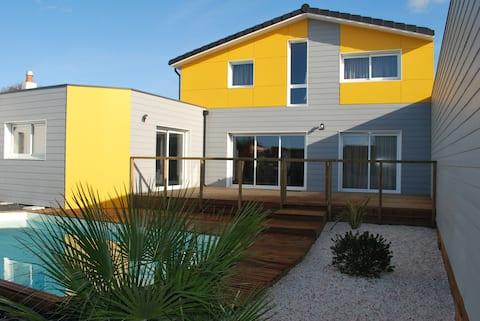 Maison avec piscine proche plage