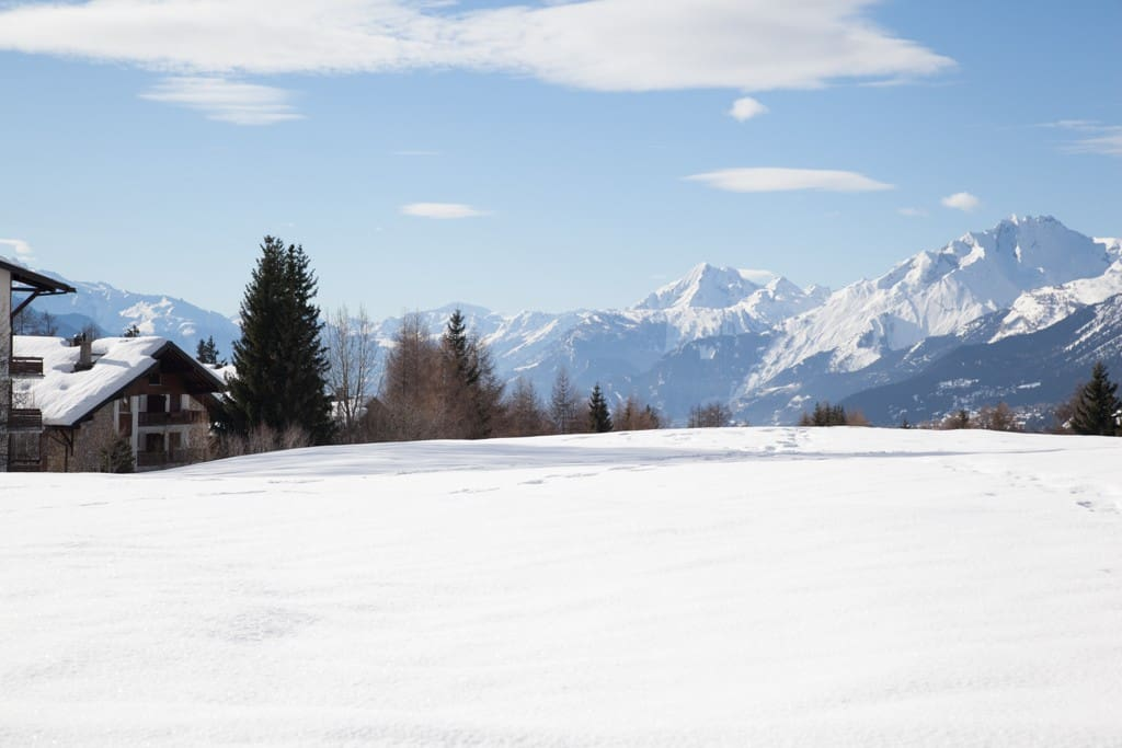 The Golf Court in winter time