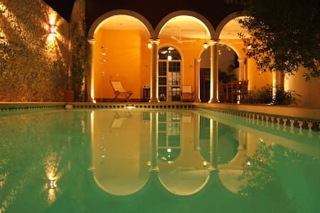 Quiet house with pool in Centro - Merida