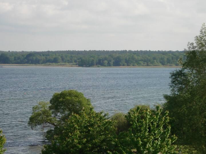 Fewo mit großer Terrasse zum See