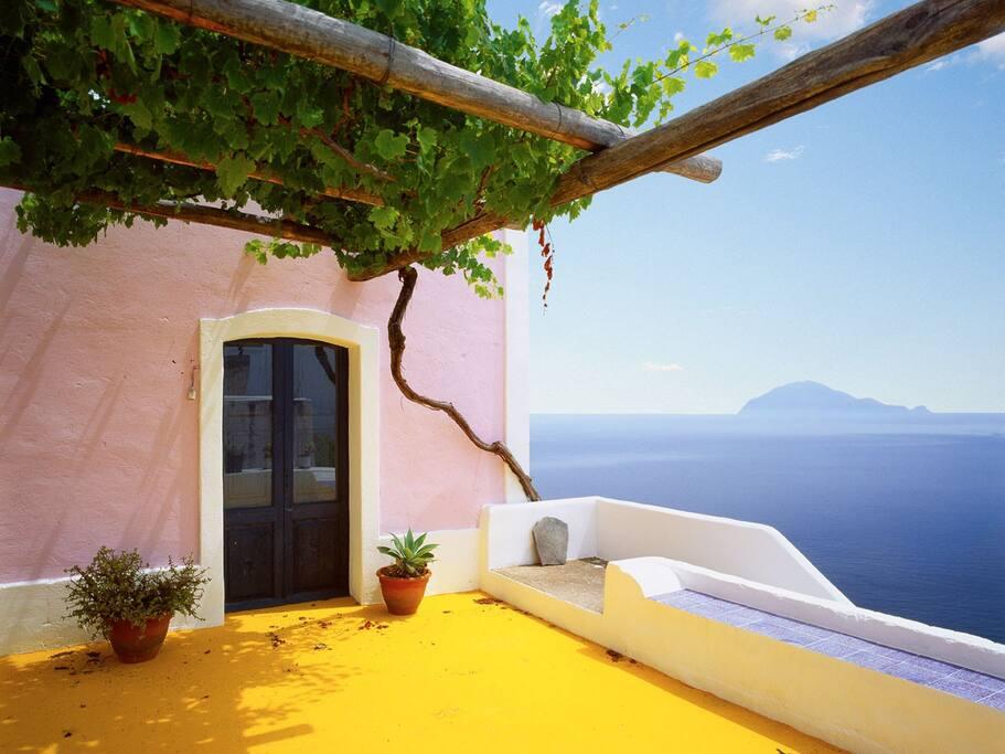Il terrazzo giallo
