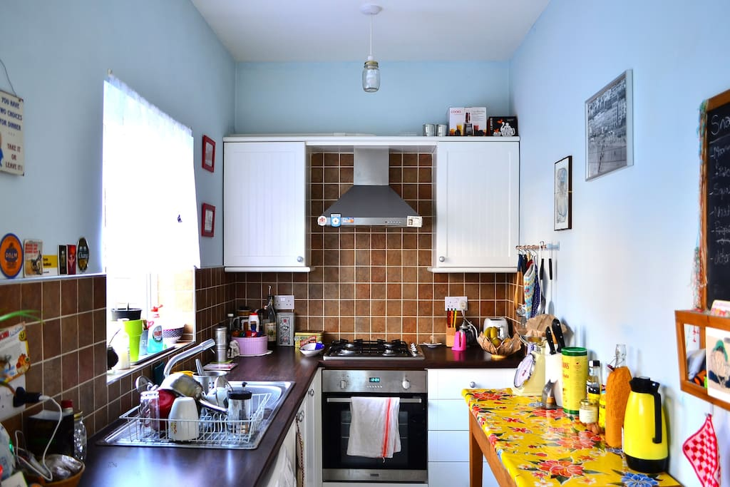 Our kitchen, available for our guests