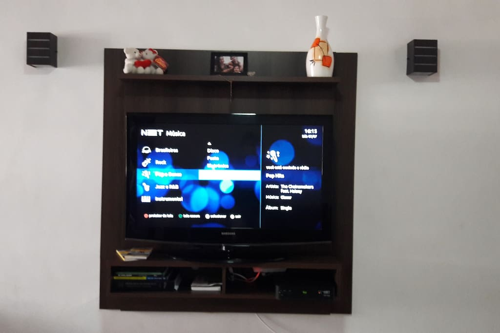 Tv por assinatura (Espaço compartilhado)