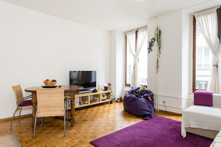 Lovely apartment in Lausanne centre
