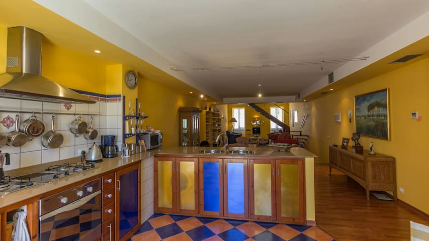 150m2 penthouse in the historic centre of Mahon - Maó - Appartement