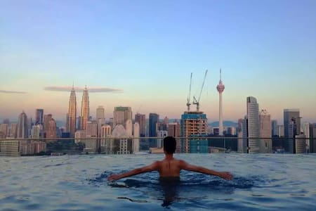 Sky pool KL@Near City Center,KLCC - 吉隆坡 - 公寓