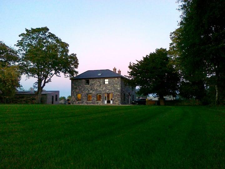 Large luxury farmhouse in Ireland
