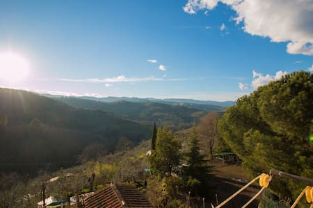 big appartament in tuscany country  - Ventena