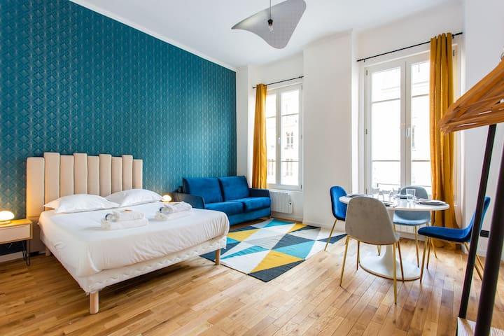 Superbe studio-Place de la Bastille/St Antoine1GD