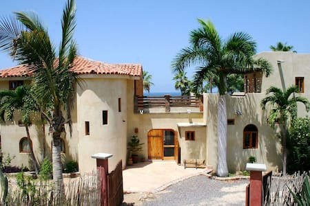 Magical Beach House with Unforgettable Ocean Views - Todos Santos