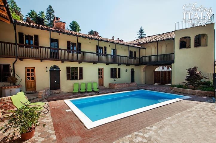 Charming B&B La dolce Vite w/pool - Frinco - Apartment