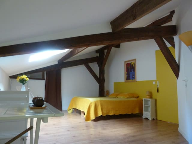 La Palombière Chambre jaune - Linxe - ที่พักพร้อมอาหารเช้า