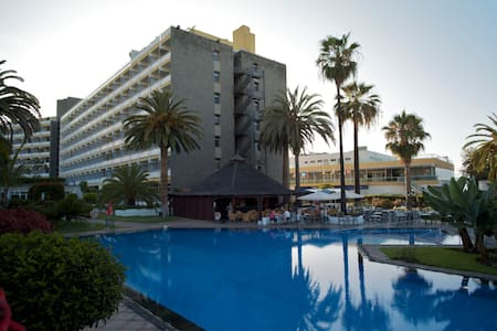 Studio: sea views & swimming pool - Puerto de la Cruz