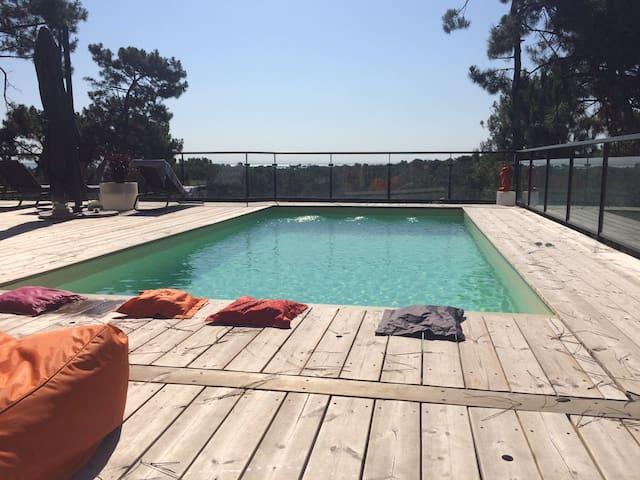 La Villa Ô! Maison d'architecte avec piscine
