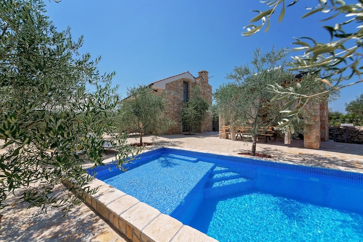 Eco Villa Valencano with swimming pool