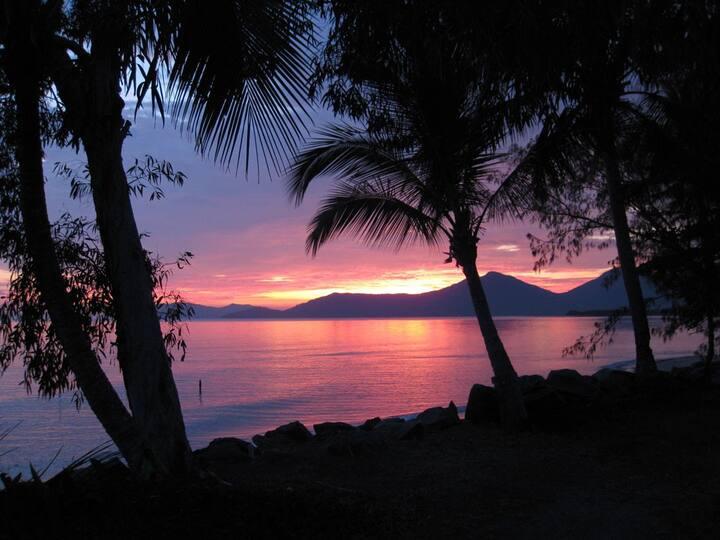 Machans Beach, Tropical retreat on the waters edge