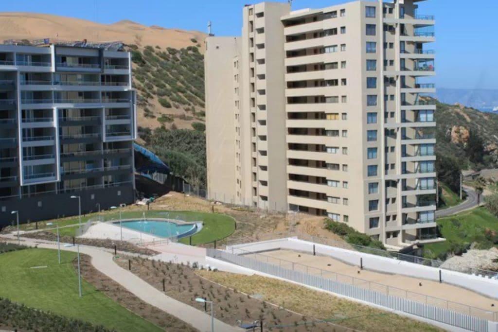 Vista mar nuevo terraza parque dept departamentos en for Juego terraza jumbo
