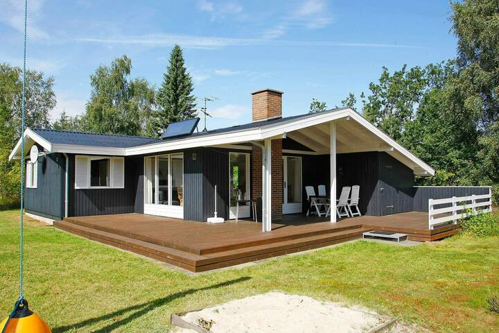 Beautiful Holiday Home in Højslev with Swing And Sandpit