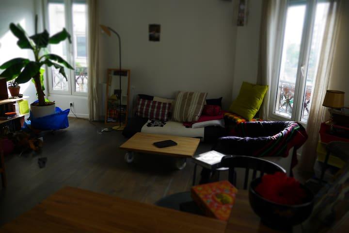 Chambre dans appartement 2 pièces