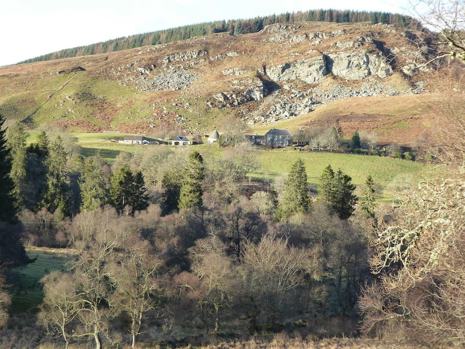Location of cottage - 2 miles from Dunkeld