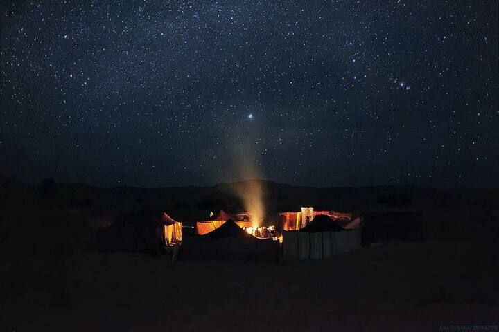 Berber Nomad Camp with Desert Tours