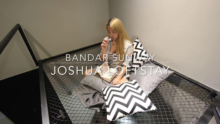 Opposite Sunway Pyramid - Joshua Loftstay