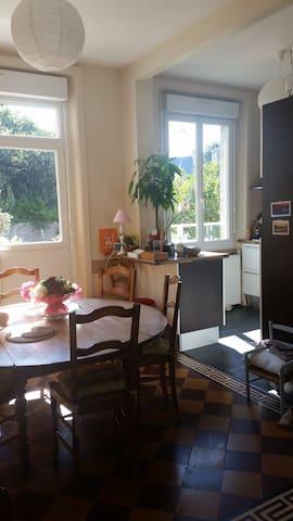 Ch & Petit Déjeuner & Dîner fait maison (près UCO) - Guingamp - House
