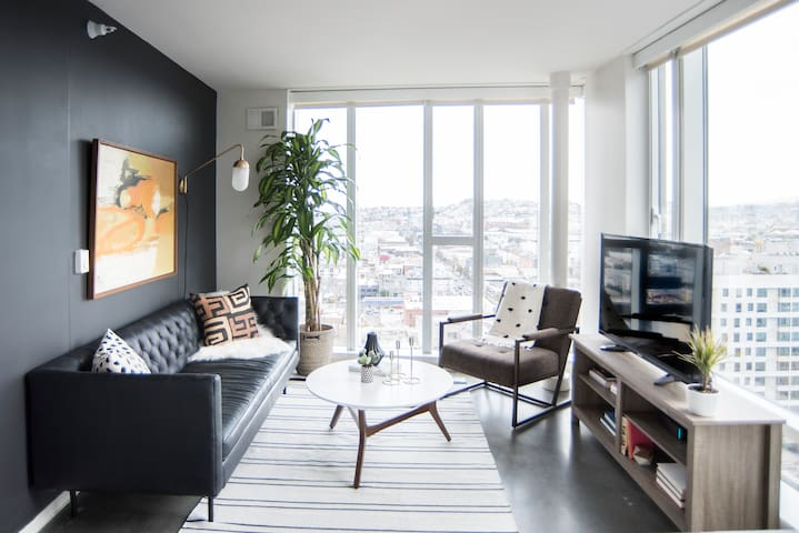 Sonder   9th Apartments   Lovely 2BR + Gym