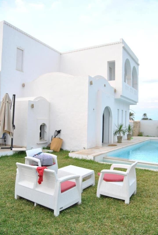 Luxueuse villa Djerba à 8mn de la zone touristique