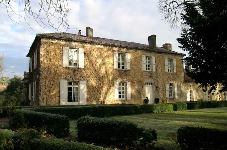French manor - holiday rental with swimming pool